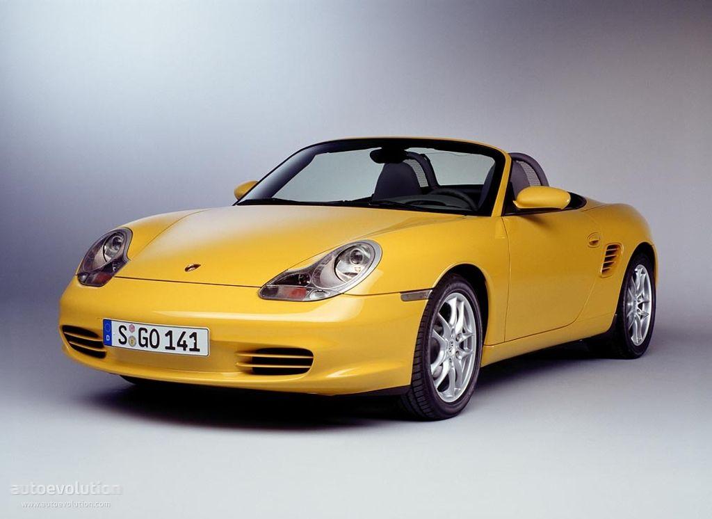 Porsche 986 Boxster 1997-2004