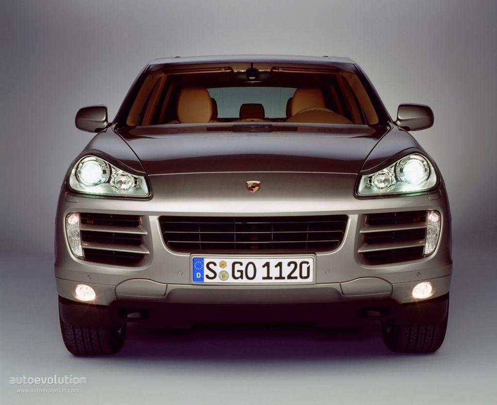 Porsche E1.2 Cayenne E1 geração 2 2007-2010