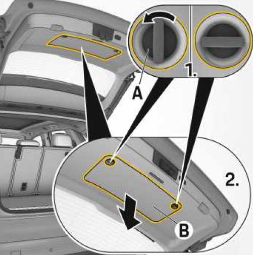 triangulo e kit de primeiros socorros Porsche Cayenne a partir de 2019