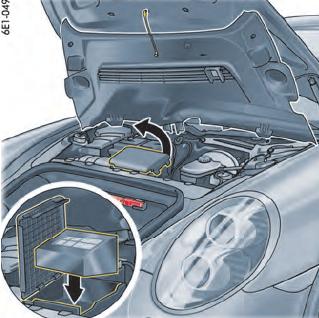Compressor elétrico para enchimento do pneu Porsche 911 991