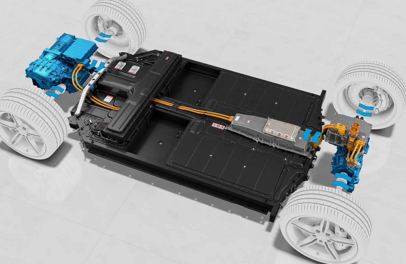 Sistema de recuperação de energia Porsche