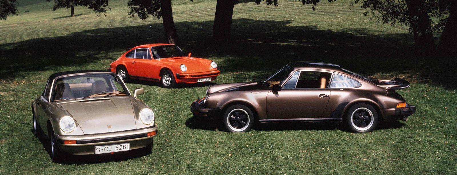 Porsche 911 Carrera 1974-1977 e 1984-1989