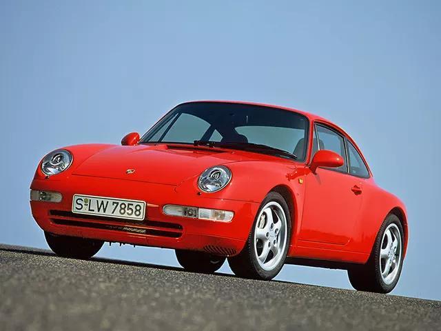 Porsche 993 911 Carrera 4, 911 Carrera 4 Cabriolet 1995