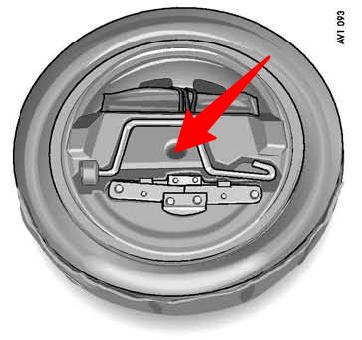 Compartimento das ferramentas Carrera 997.1