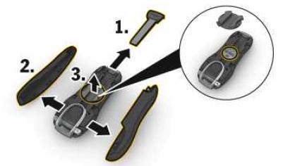 Removendo a tampa lateral do controle remoto