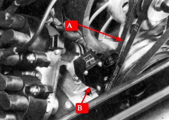 Sensor da correia do alternador do Porsche 993