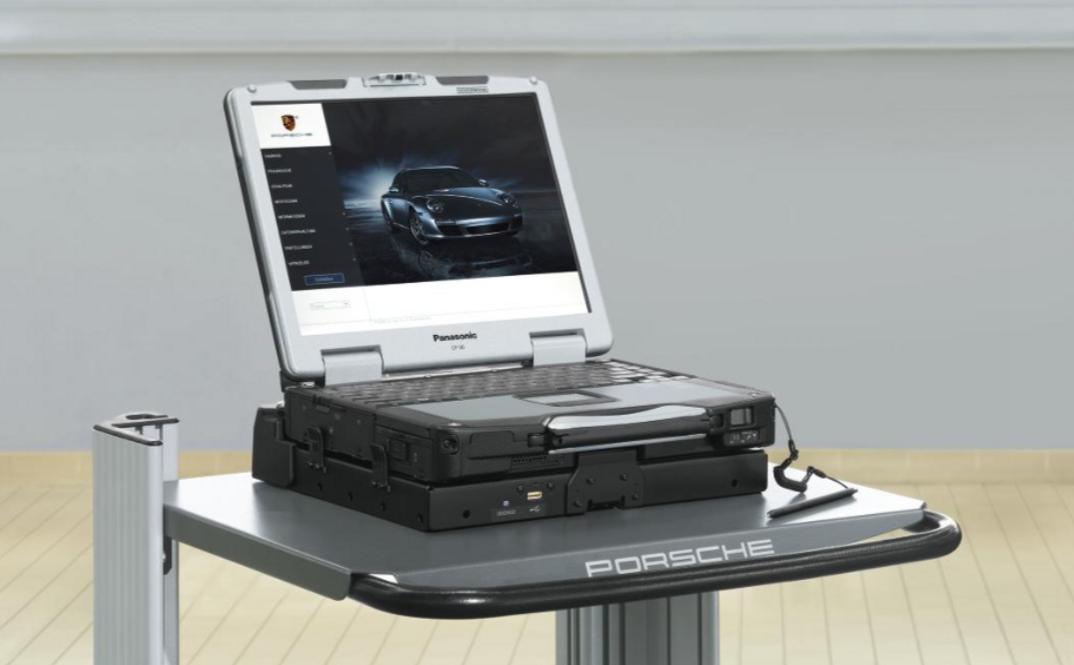 Porsche PIWIS tester geração 2
