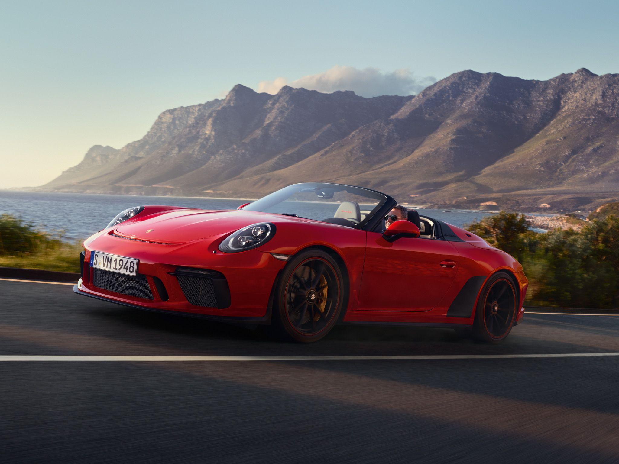 Porsche 992 911 Speedster 2020-