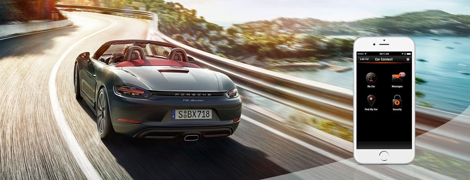 Porsche Car Connect app