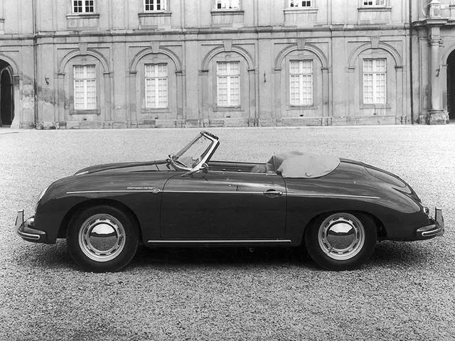 Porsche 356A 1600 Super Convertible D 1959