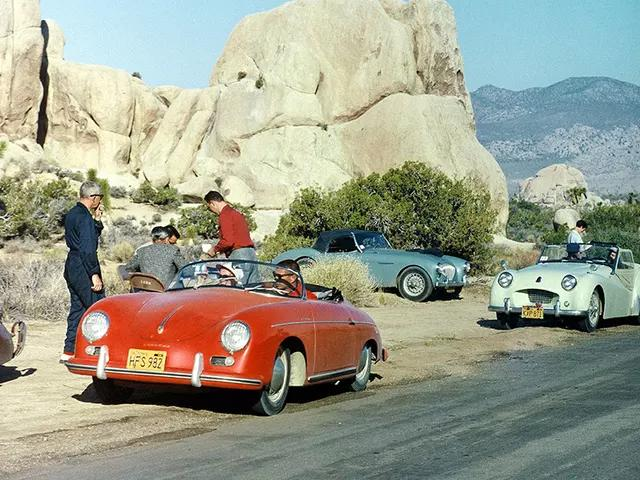 Porsche 356 1500 Super Speedster 1955