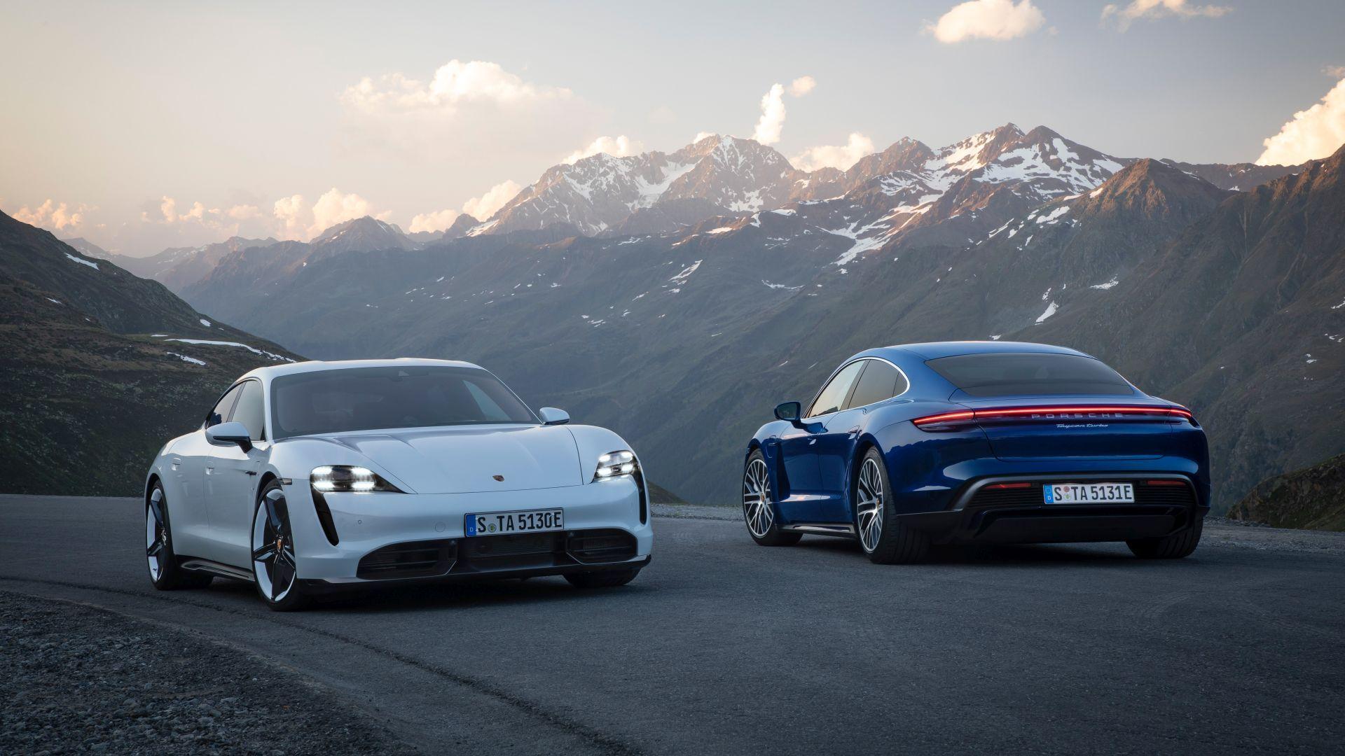 Porsche Taycan 2019-