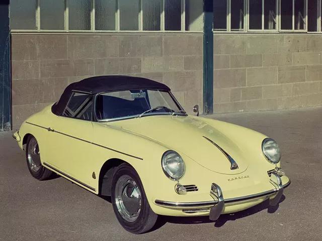 Porsche 356 B 1600 Roadster 1960-62