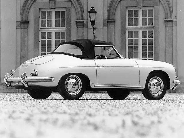 Porsche 356 B 1600 Super Roadster 1960-1962