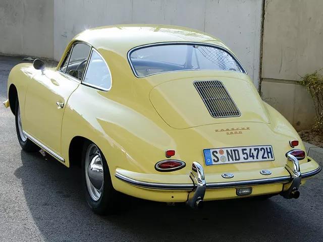 Porsche 356 B 1600 1960-1963