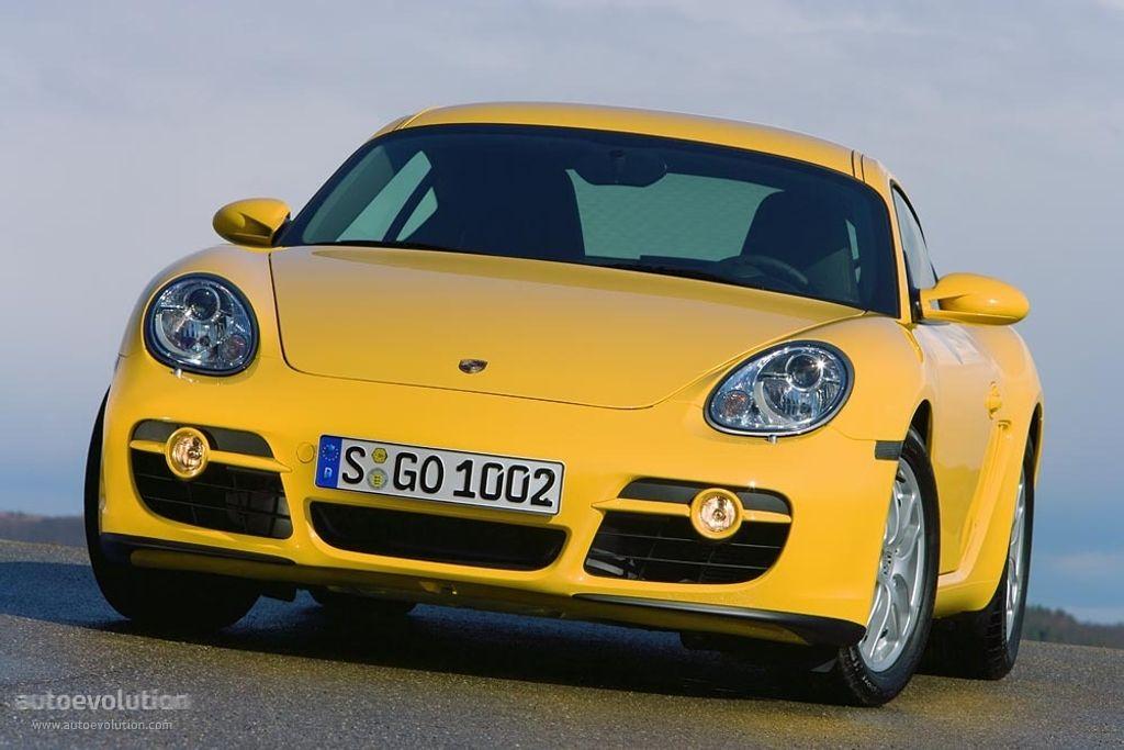 Porsche 987C Cayman 2006-2008