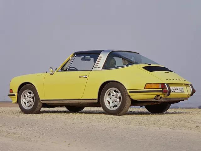 911 E 2.4, 911 E 2.4 Targa 1972-1973