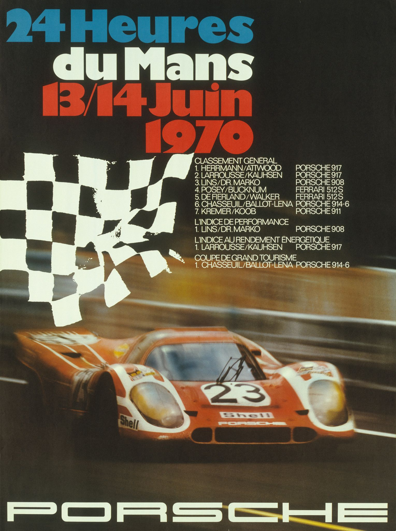 Le Mans 1970 Porsche 917