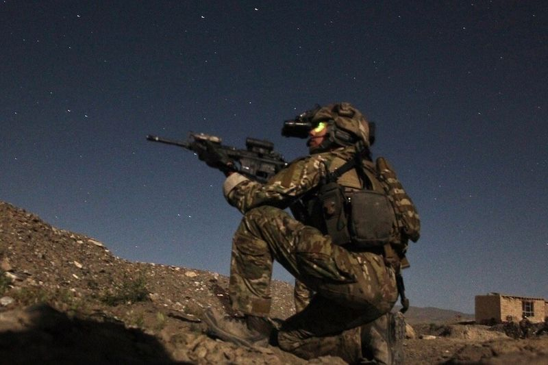 U.S. and Afghan forces successfully captured insurgents using an iPhone app