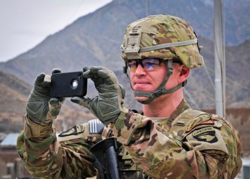 Soldier creates smartphone app to track Taliban, IEDs