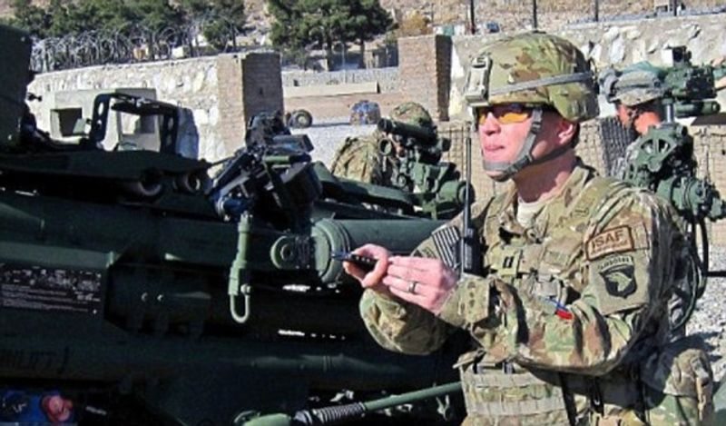 Soldier develops Smartphone app to track Taliban: Tactical Nav can pinpoint enemy and direct fire