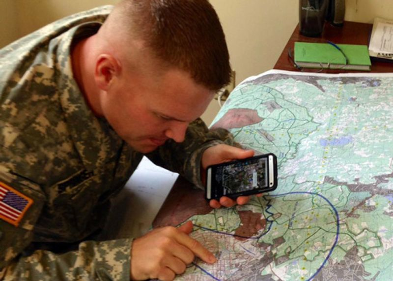 U.S. soldiers design iPhone apps to help fight Taliban in Afghanistan