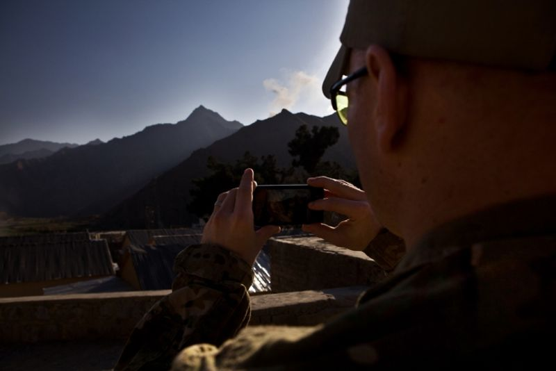 iPhone app to map and plot Taliban positions