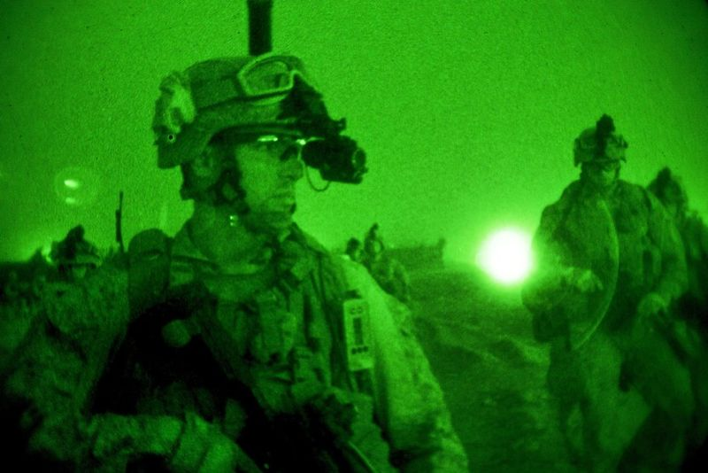 U.S. and Afghan Forces Capture Enemy Insurgents