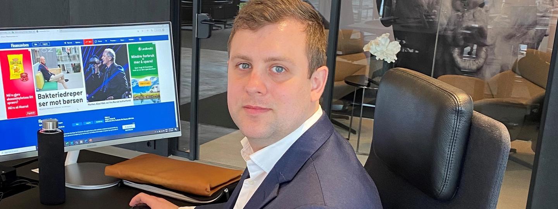 Ny ansatt i WPS, Jørgen Lisøy