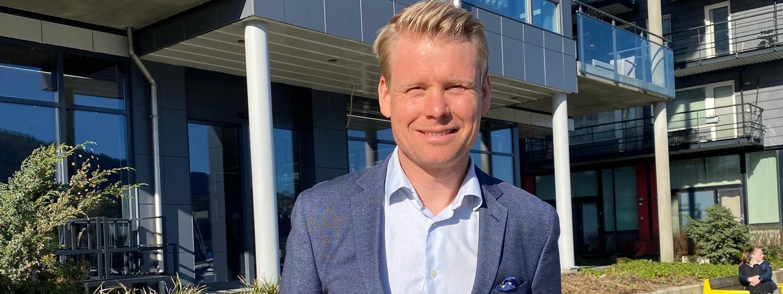 WPS partner Fredrik Stenevik