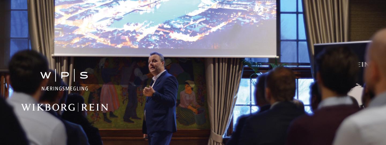 Lars Erik Wirsching fra WPS holder foredrag