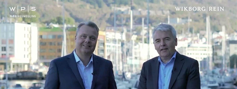 Bjørn Frode Skaar og Lars Erik Wirshing