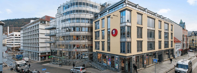 Storsalg i Bergen sentrum