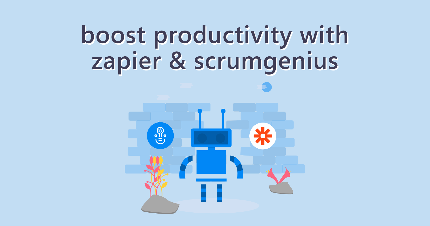 Boost Your Productivity with Zapier and ScrumGenius