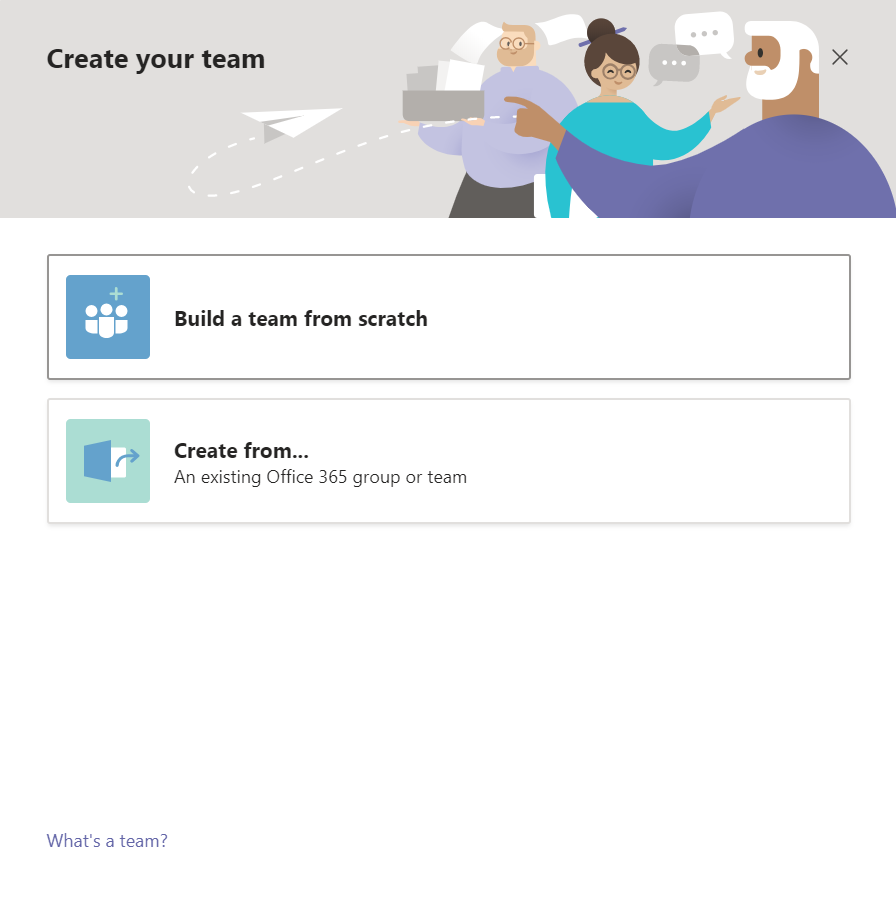 How to Use Microsoft Teams Effectively 2: Setting Up Your Account - Create Team 2