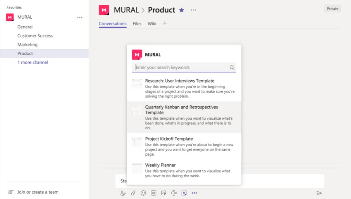 MURAL for Microsoft Teams