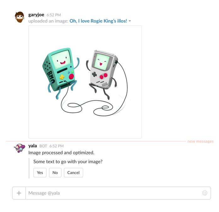 The Yala app for Slack