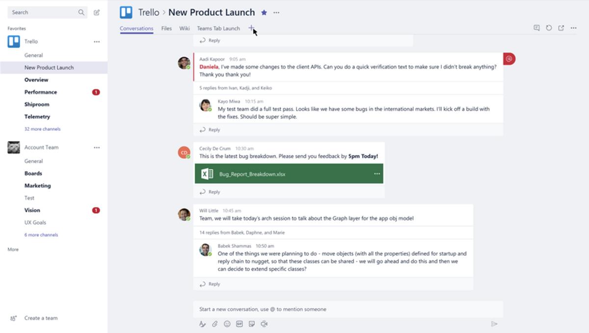 The Trello Connector for Microsoft Teams