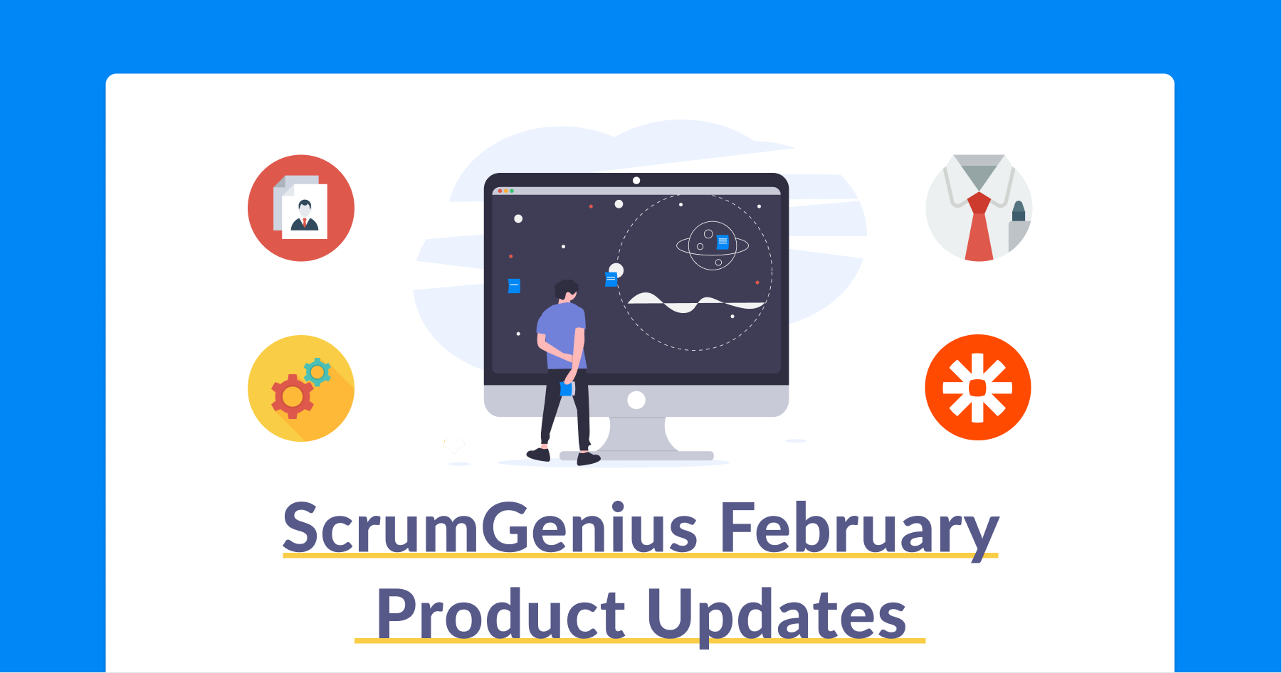 ScrumGenius latest product updates