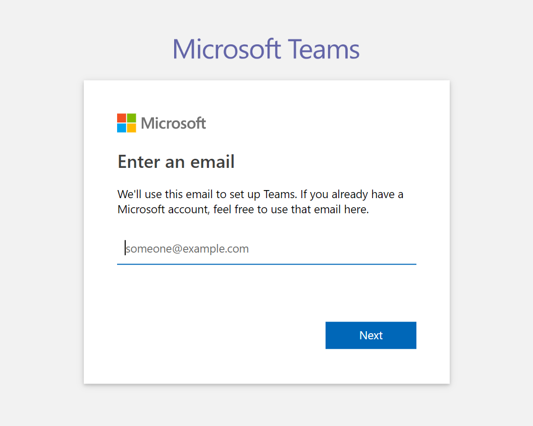 How to Use Microsoft Teams Effectively 2: Setting Up Your Account - Registering Your Account