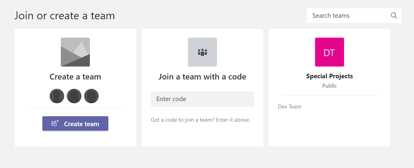 How to Use Microsoft Teams Effectively 2: Setting Up Your Account - Create Team