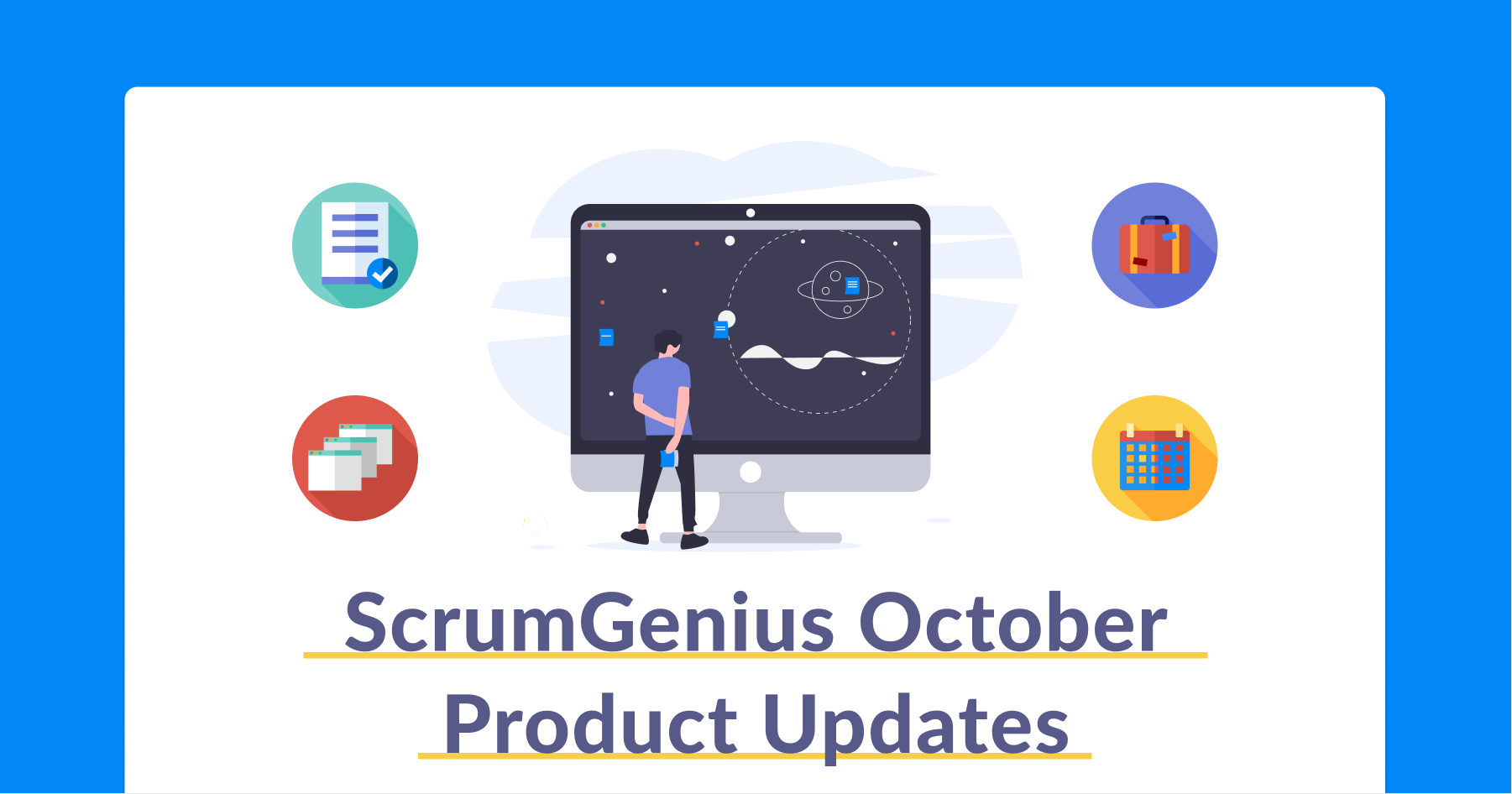 October Product Updates - ScrumGenius