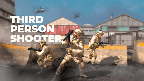 Unity3d third person shooter.