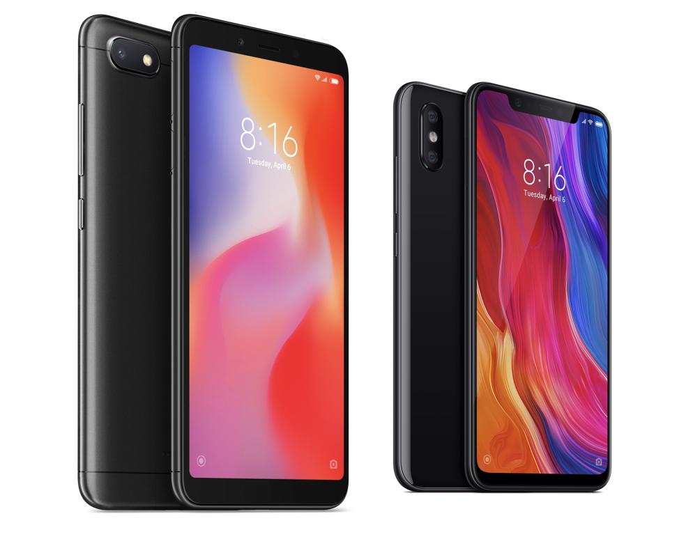 Xiaomi-telefoner finns nu till salu på Tres hemsida