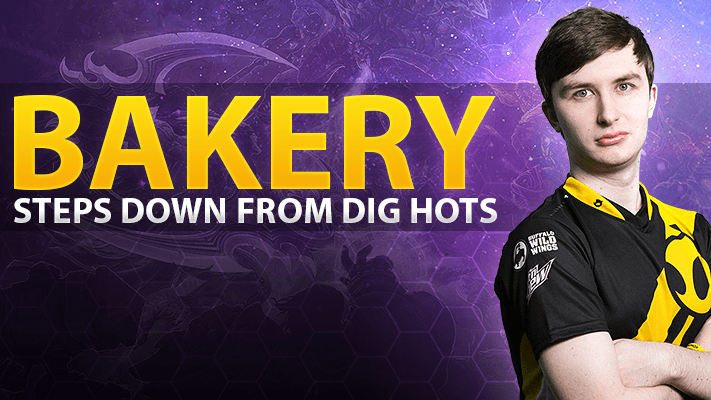 Bakery steps down from Heroes of the Storm team