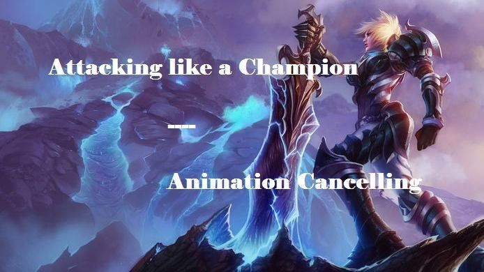 Attacking like a Champion: A Guide On Animation Cancelling