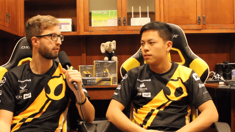 Interview with dignitas Kirei on the differences between NA and EU lifestyle, the off-season, and the top teams in NA