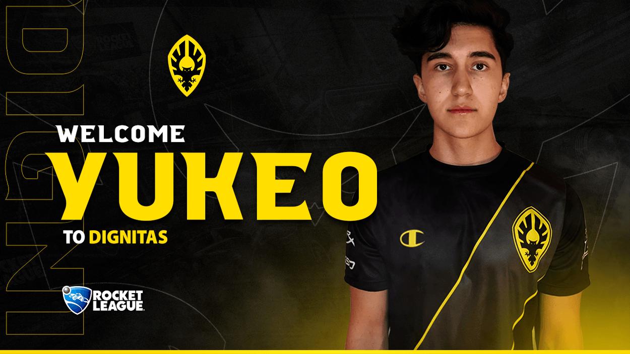 Yukeo joins Dignitas Rocket League