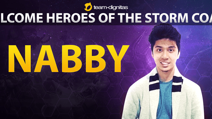 Team Dignitas signs nabby as Heroes of the Storm Coach