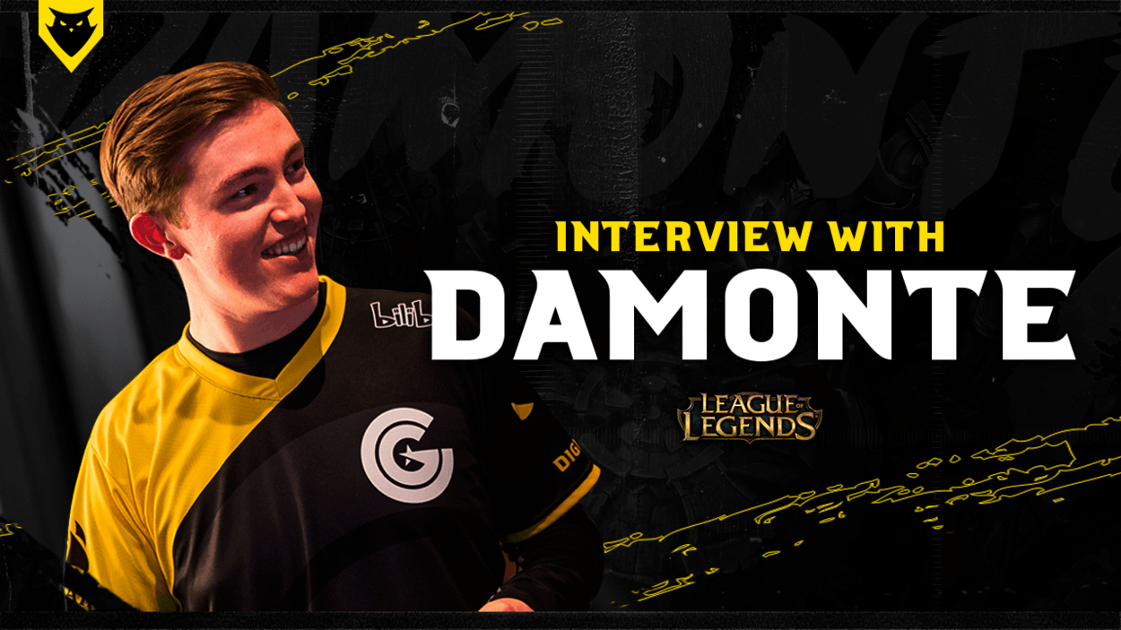 Interview with CG Mid laner Damonte